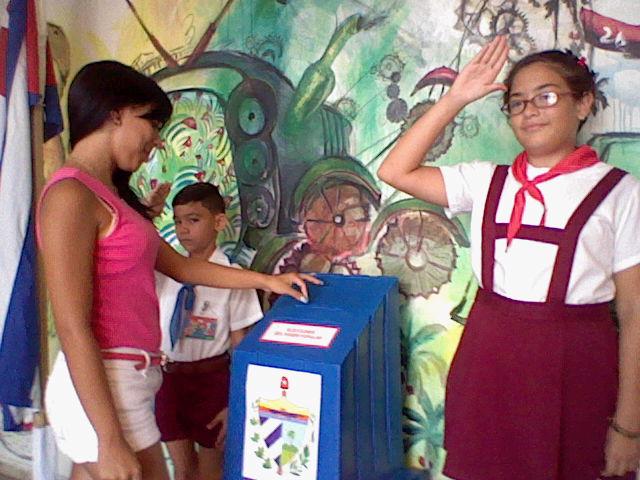 Susana, Votante mas joven de san Jose de las Lajas