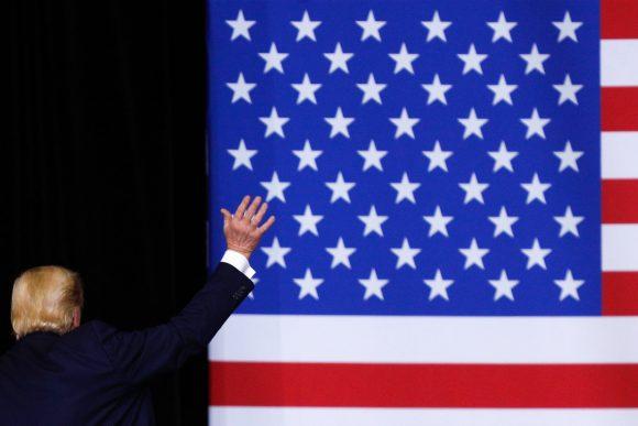 Estrategia de reelección de Donald Trump