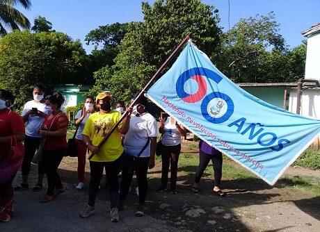 Bandera 60 aniversario FMC