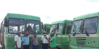 Labores organizativas del transporte en San José de las Lajas